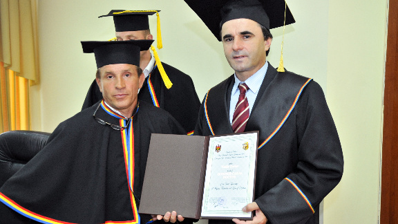 Василий  Тарлев    –   Doctor Honoris Causa